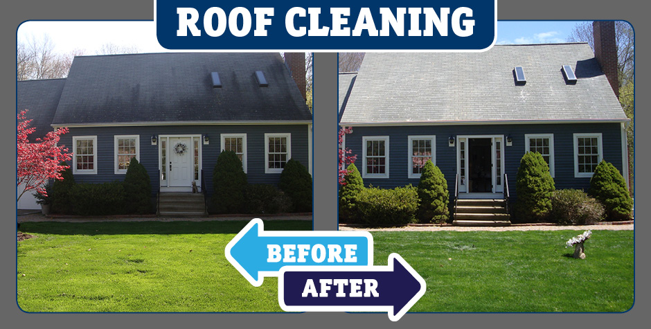 Roof Cleaning Services In Conneticut American Safe Wash