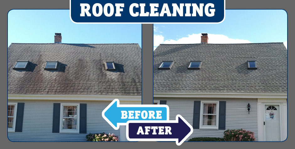Slate Roof Cleaning American Safe Wash